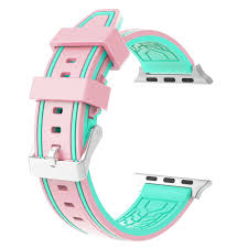 apple watch green light for apple watch band silicone watch band replacement strap 42mm