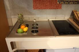 Smart Countertop by Gray Solid Countertop Undermount Sink Wine Glass White Drinkware
