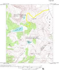 Colorado On The Map by Crags Trail Mount Zirkel Wilderness Area Colorado