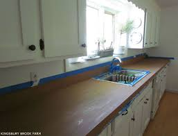 how to make laminate countertops look like wood kingsbury brook farm