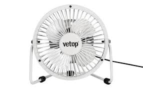 Small Metal Desk Fan Vetop 4 U0027 Usb Mini Metal Desk Fan V End 12 17 2017 1 42 Pm