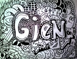 doodle name arts my name doodle by rebekkahgien on deviantart