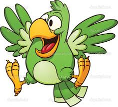 pirate parrot cartoon png