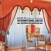 Orange Curtains For Living Room Stylish Country Curtains For Living Room In English Style