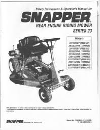 instructional and owners manuals for lawn and garden equipment