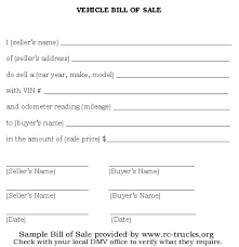 6 bill of sale templates excel pdf formats