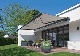 Outdoor Patio Awnings Patio Awnings Create Pleasantly Shaded Spaces To Relax