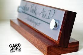 Wooden Desk Name Plates Custom Wooden Desk Name Plates Decorative Desk Decoration