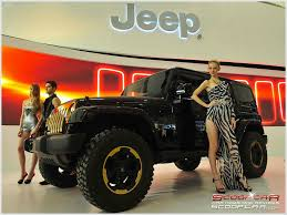 jeep girls jeep wrangler dragon concept beijing motor show 2012 scoopcar