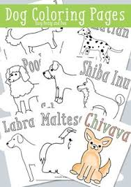 30 free printable puppy coloring pages dog learning