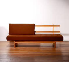 Mid Century Daybed Mid Century Wool Oak Daybed By Bra Bohag For Dux For Sale At Pamono