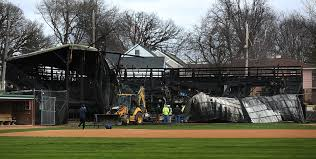 scoggins after ballpark burns waseca reaches out to tink larson