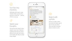 guide how to use the newly super charged notes app in ios 9