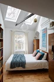 Decorating A Small Bedroom Best 25 Skylight Bedroom Ideas On Pinterest Room Goals Eaves