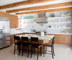 Modern Open Kitchen Design Kitchen Designs With Open Shelving