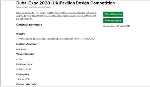 Seeking In Dubai Inpark Magazine Uk Seeking National Pavilion Designer For Expo