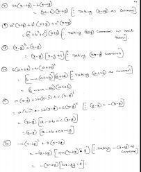 rd sharma class 8 solutions chapter 7 factorization ex 7 3