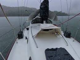 Sailboat Sun Awnings Awning And Rain Catcher For Cruising Yachts