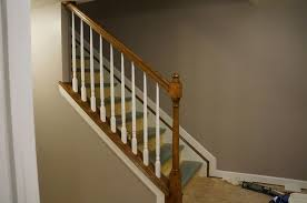 Painted Banister Ideas Painting Stair Railing Ideas Best House Design Best Stair