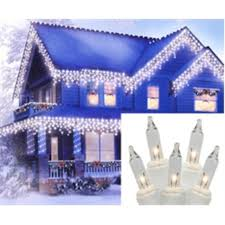 white icicle christmas lights set of 150 clear everglow twinkle icicle christmas lights white