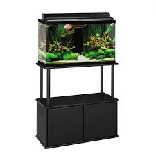 r j enterprises fusion 50 gallon aquarium tank and cabinet gallon aquarium aquarium stands canopies cabinets petco store rj