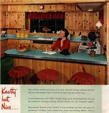 formica knew knotty was nice 1952 knotty is nice