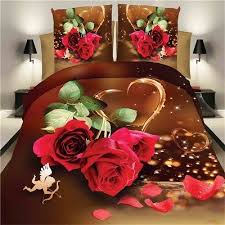 Roses Bedding Sets Bedding Sets With Cupid Bedding For