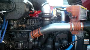 kenworth t680 engine driving the peterbilt 579 with mx 11 engine truck news