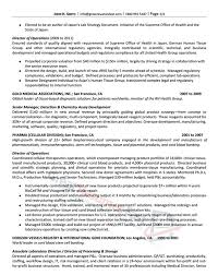 Resume Examples For Medical Office by Executive Resume Samples Professional Resume Samples