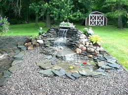 Small Garden Waterfall Ideas Waterfall Pond Ideas Backyard Pond Waterfall Designs Small Pond