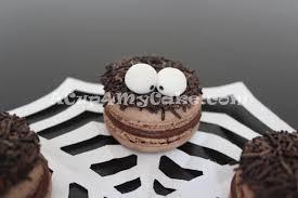 halloween spider macarons acup4mycake