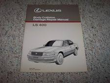 1990 lexus ls400 parts lexus ls400 repair manual ebay