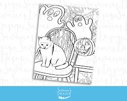 printable halloween coloring halloween coloring sheet