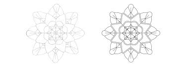 pattern drawing illustrator drawing geometric designs from hand sketch to digital pattern