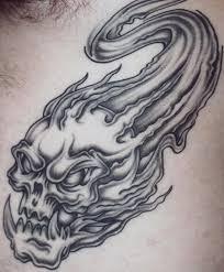 flaming skull design photo 3 2017 photo
