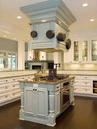 kitchen island with pot rack marvelous kitchen island exhaust fan custom designed stove
