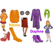 Scooby Doo Gang Halloween Costumes 526 Clothes Dress Costumes Images