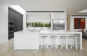 Designer White Kitchens Pictures High End Contemporary Kitchen White Kitchen Island With Designer