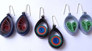 easy earrings quilled teardrop earrings simple and easy to use tutorial
