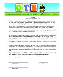 sample liability waiver form 8 free documents in word pdf