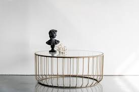 Metal And Glass Coffee Table Coffee Tables Simple Table Round Glass Coffee With Wood Base