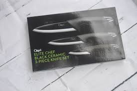 Ceramic Kitchen Knives Review Ozeri Elite Chef Ceramic Knife Set Review Nicki U0027s Random Musings