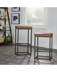 holiday special porter reclaimed wood 24 inch counter stool by