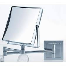 Magnifying Bathroom Mirror With Light Mirrors Lighted Magnifying Mirrors Wall Mounted Home Design Ideas
