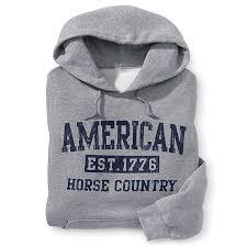 american horse country u0027 hoodie western wear equestrian inspired