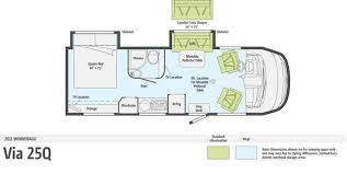 Rialta Motorhome Floor Plans 25 U0027 Class A Rv Floor Plan Google Search Rv Wagon Tiny Home