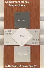 what paint colors go well with honey oak cabinets the best wall paint to compliment honey maple floors or