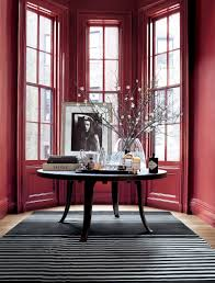 ralph lauren paint townhouse red grounds a bay window in
