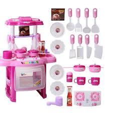 kit de cuisine enfant kit jouet de cuisine pour enfant fille simulation d ensemble de