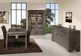 vaisselier mural ancien table de salle à manger contemporaine chêne gris campus buffet